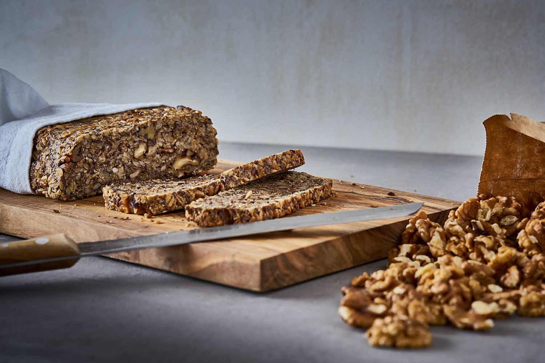 Saaten-Walnuss-Brot - glutenfrei, saftig & knusprig