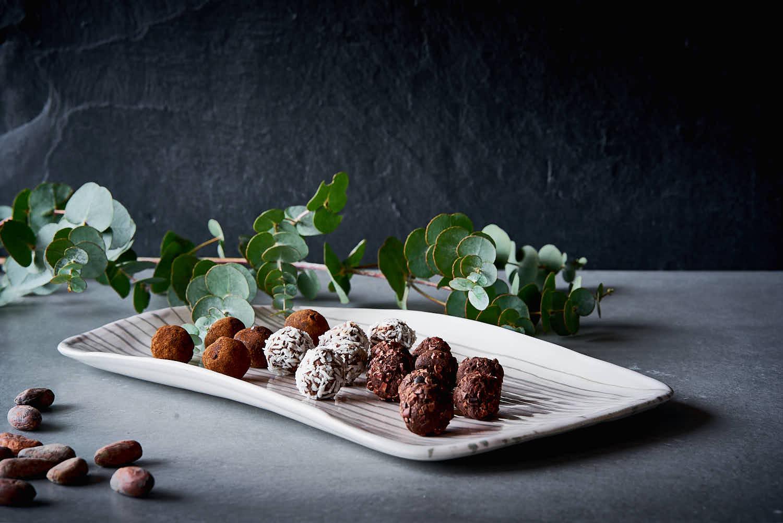 Schokoladen-Trüffel - ohne Zucker