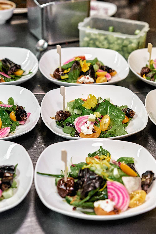 Vegane Vorspeise - Hochzeitsmenü