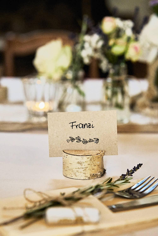 Vegane Hochzeit - Styling & Florsitik