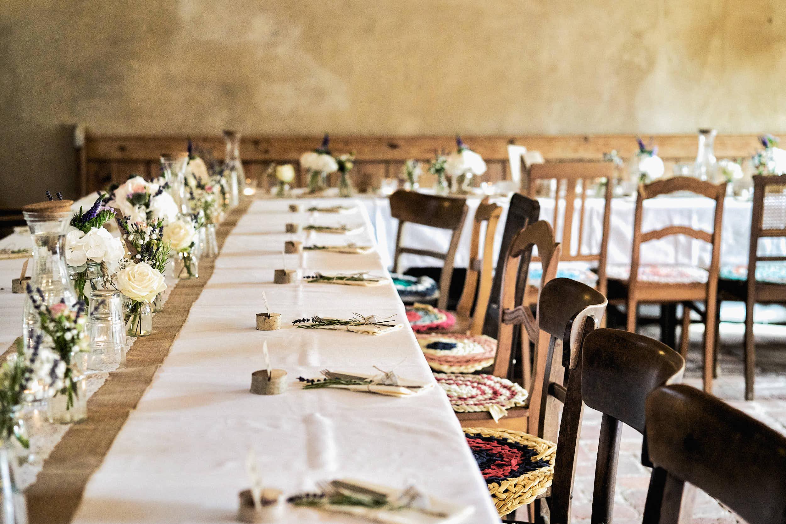 Vegane Küche auf einer Hochzeit