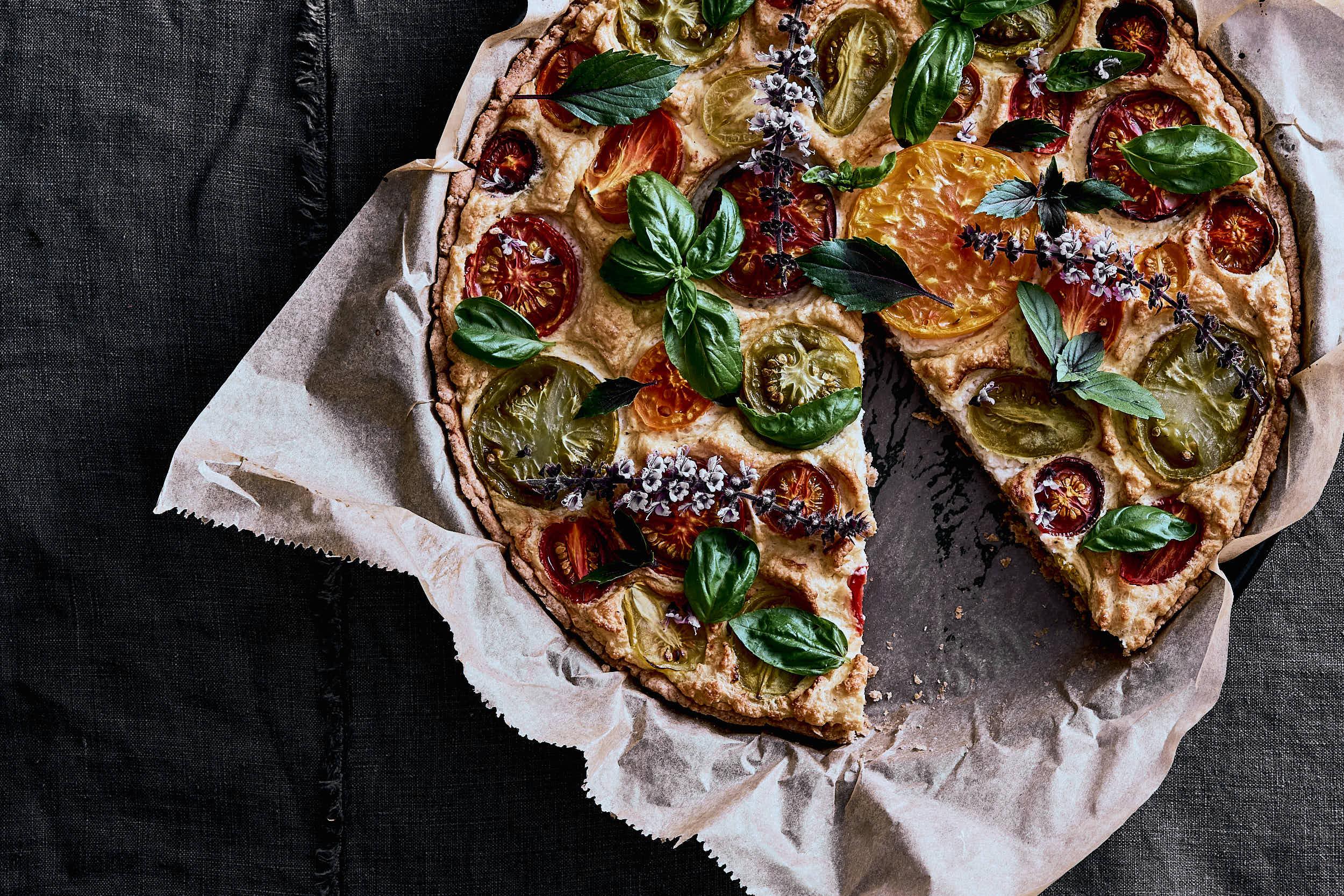 Tomaten Tarte - vegan gesund