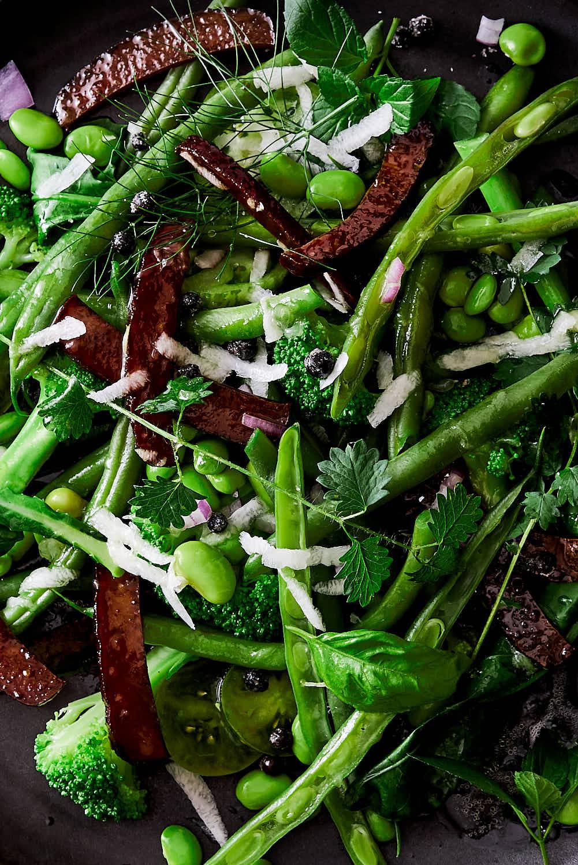 Bohnen-Brokkoli-Salat-vegan
