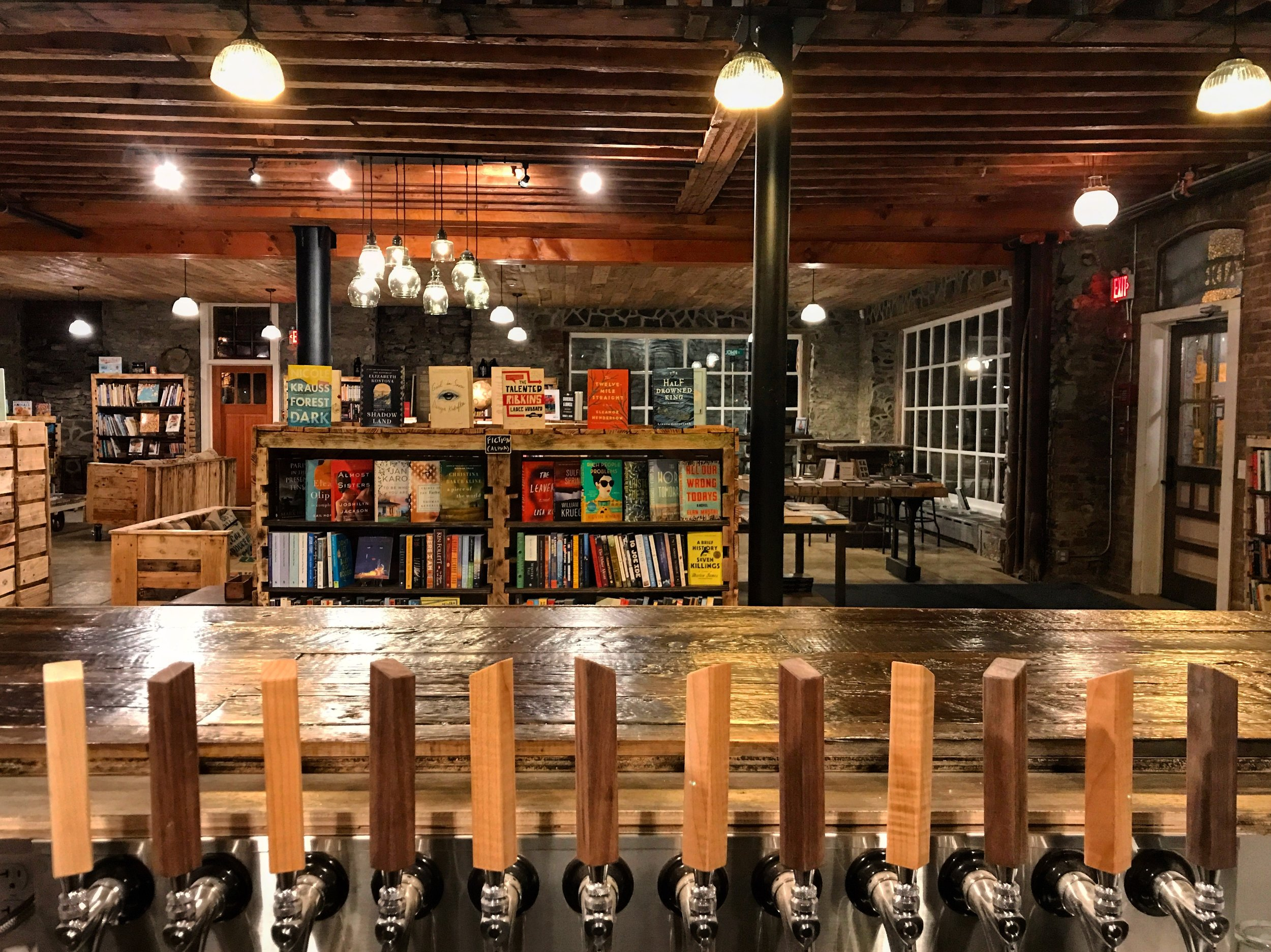 Rough Draft Bar & Books, Kingston, NY