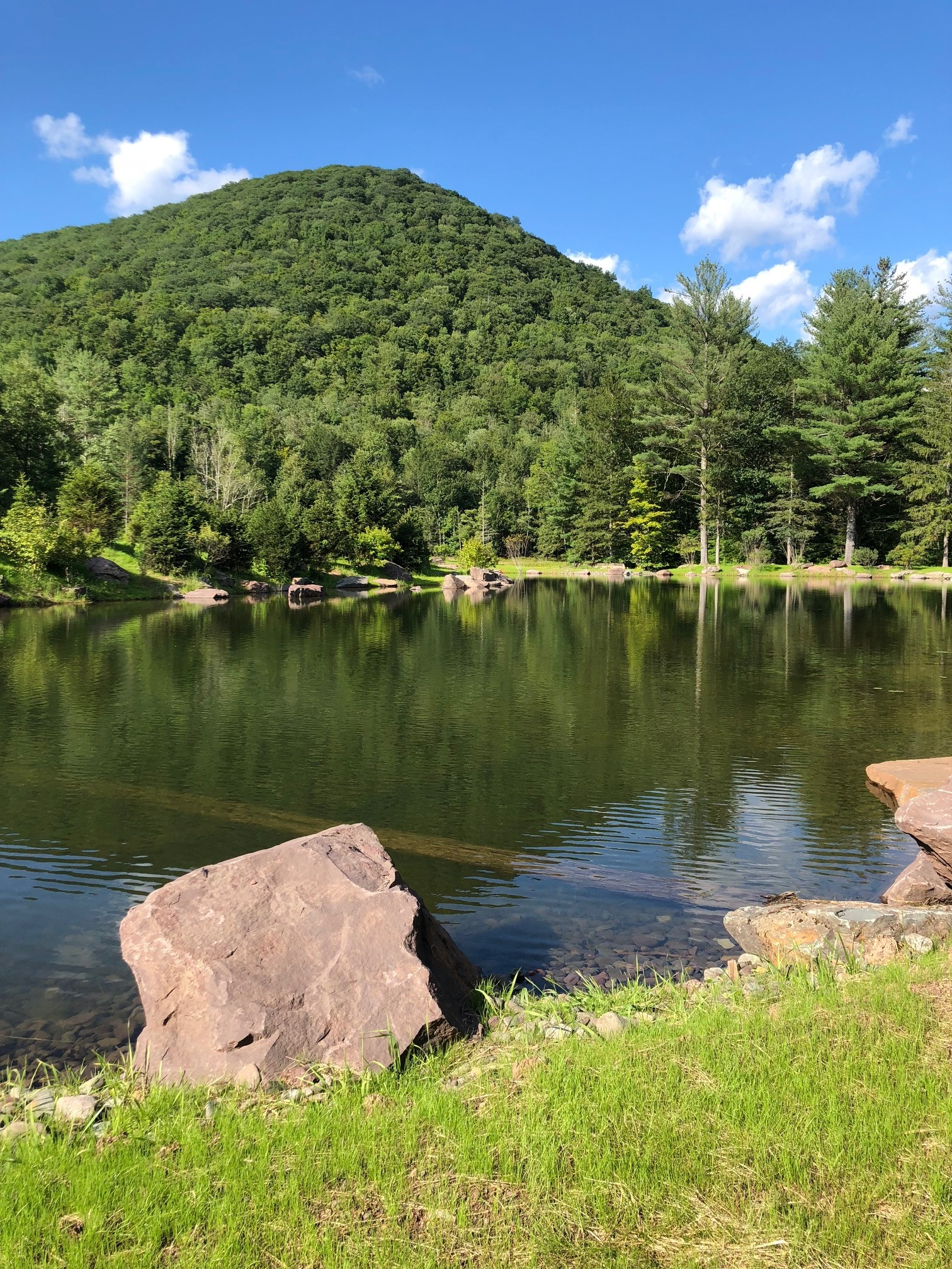 Sleepy Pines Pond and Mountain.jpeg