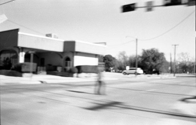 """Life moves pretty fast. If you don't stop and look around once in a while, you could miss it."" -FB . . . #acros100 shot through my new #konicahexar and hand developed in #d76 . . . #analog #film #acros #shootfilm #filmsnotdead #filmisnotdead #denton #motionblur #blackandwhite #fujifilm #neopan100 #kodak"