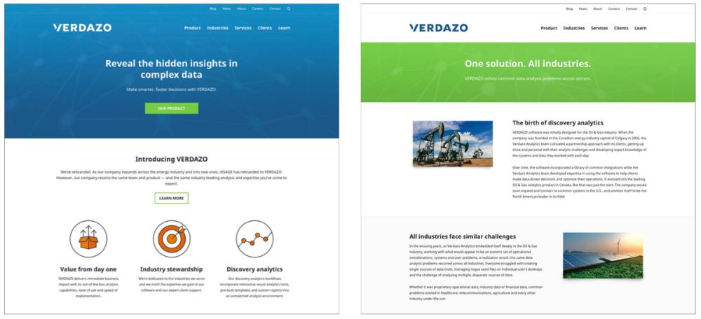 New website -  verdazo.com