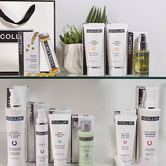 The perfect shelfie !  Filled with our fav GM Collin products.  Come shop the collection and stay tuned to discover some amazing new products available now at Refine  #show us your shelfie