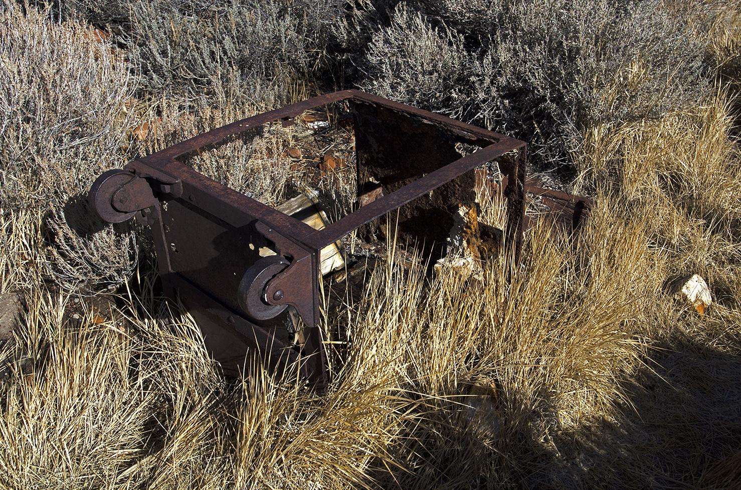 An old safe.