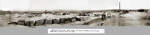 Atolia panorama, circa 1909. Courtesy of the Rand Desert Museum http://randdesertmuseum.com/site/