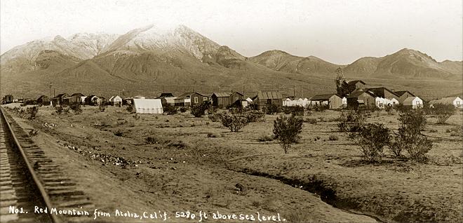 Atolia, circa 1916. Courtesy Rand Desert Museum http://randdesertmuseum.com/site/