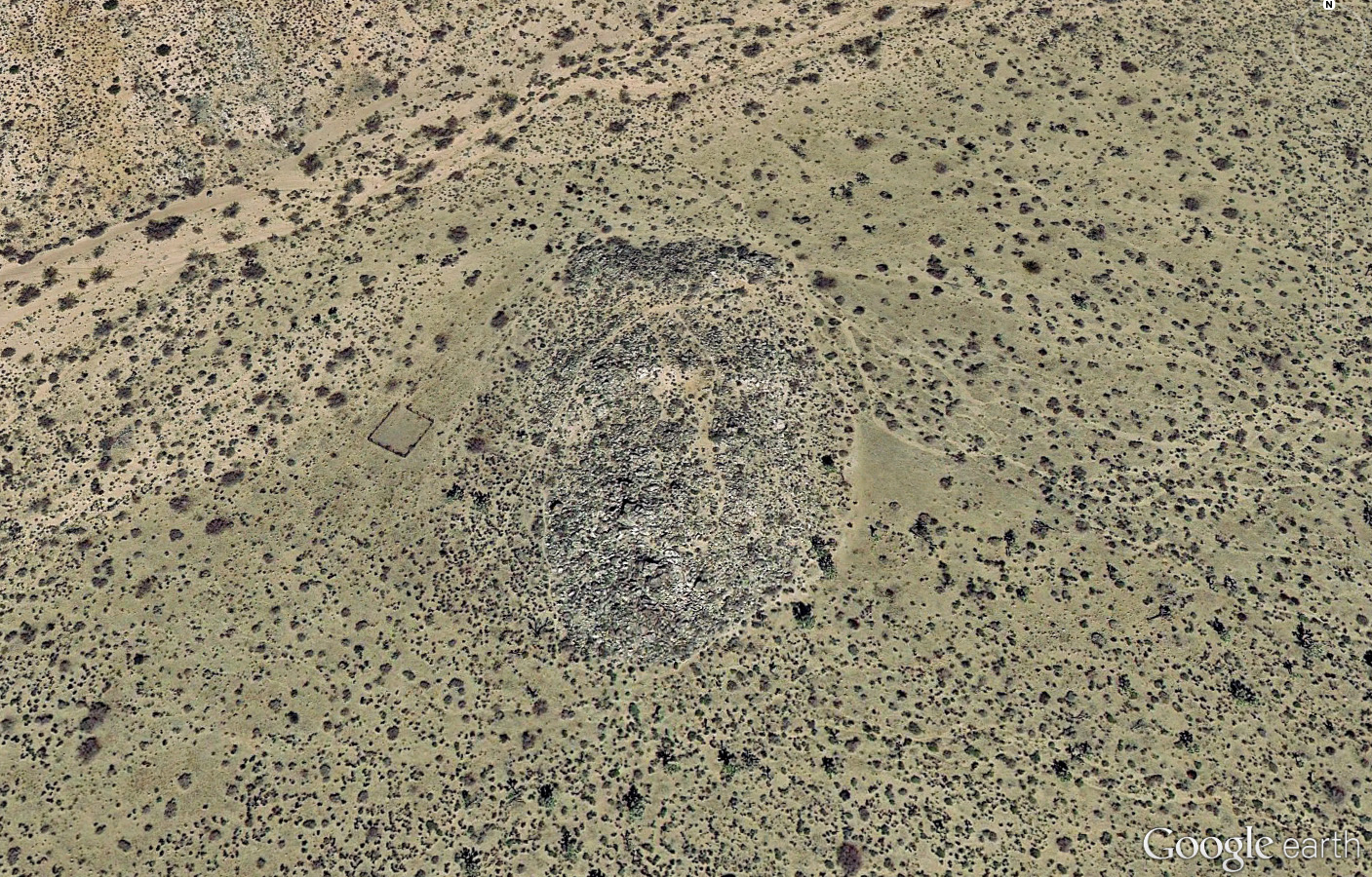 Samuelson's Rocks - Space View