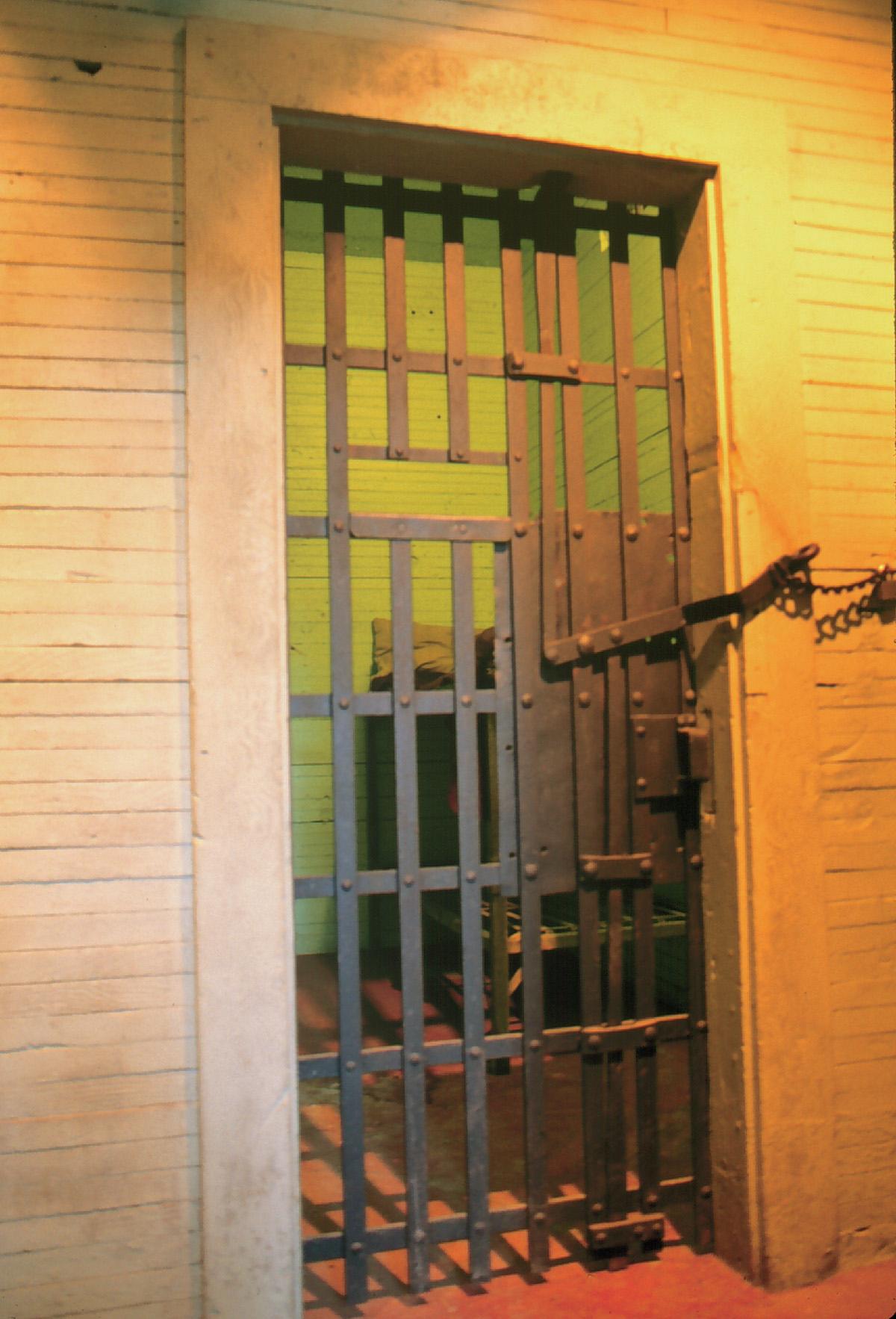 Black Bart Slept Here, Calaveras County Jail