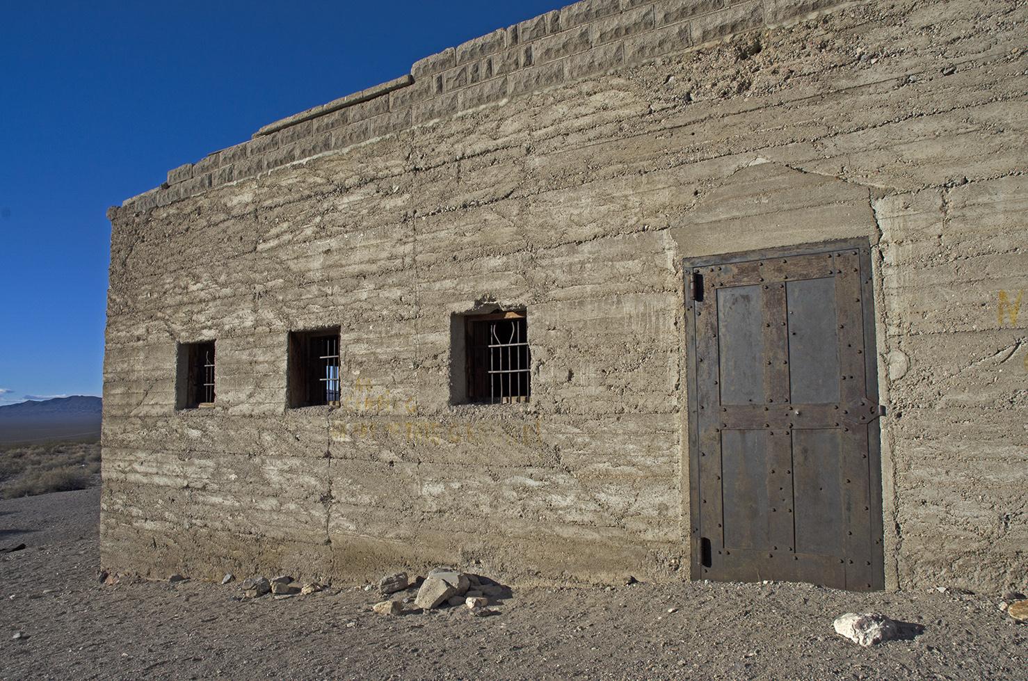 The stone jail still seems pretty formidable.