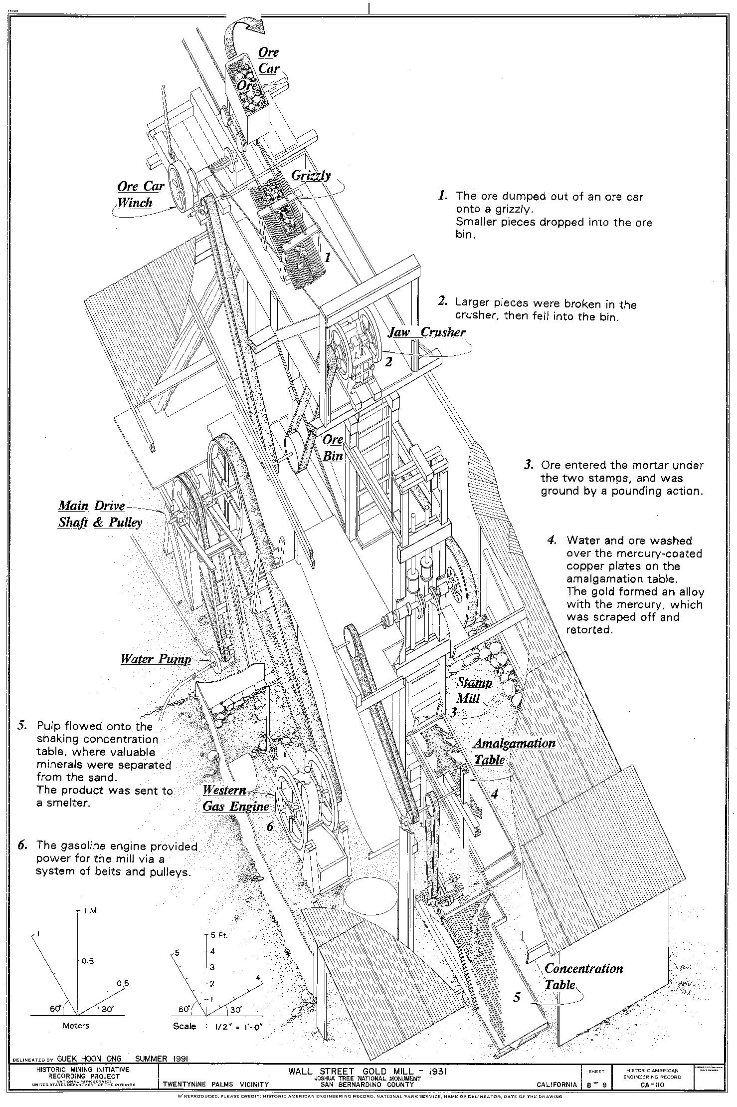 Credit: Historic American Engineering Record, National Park Service, Guek Hoon Ong, 1991.