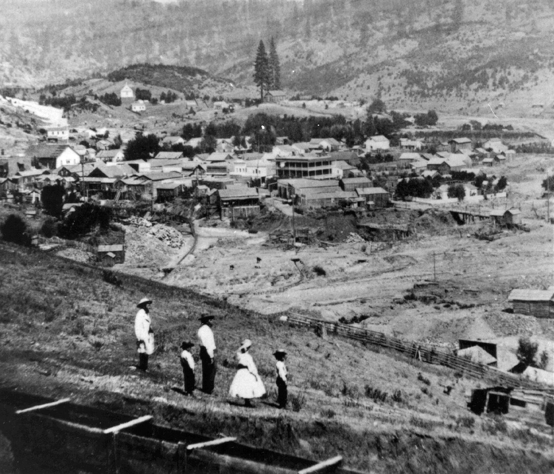 Volcano - circa 1885