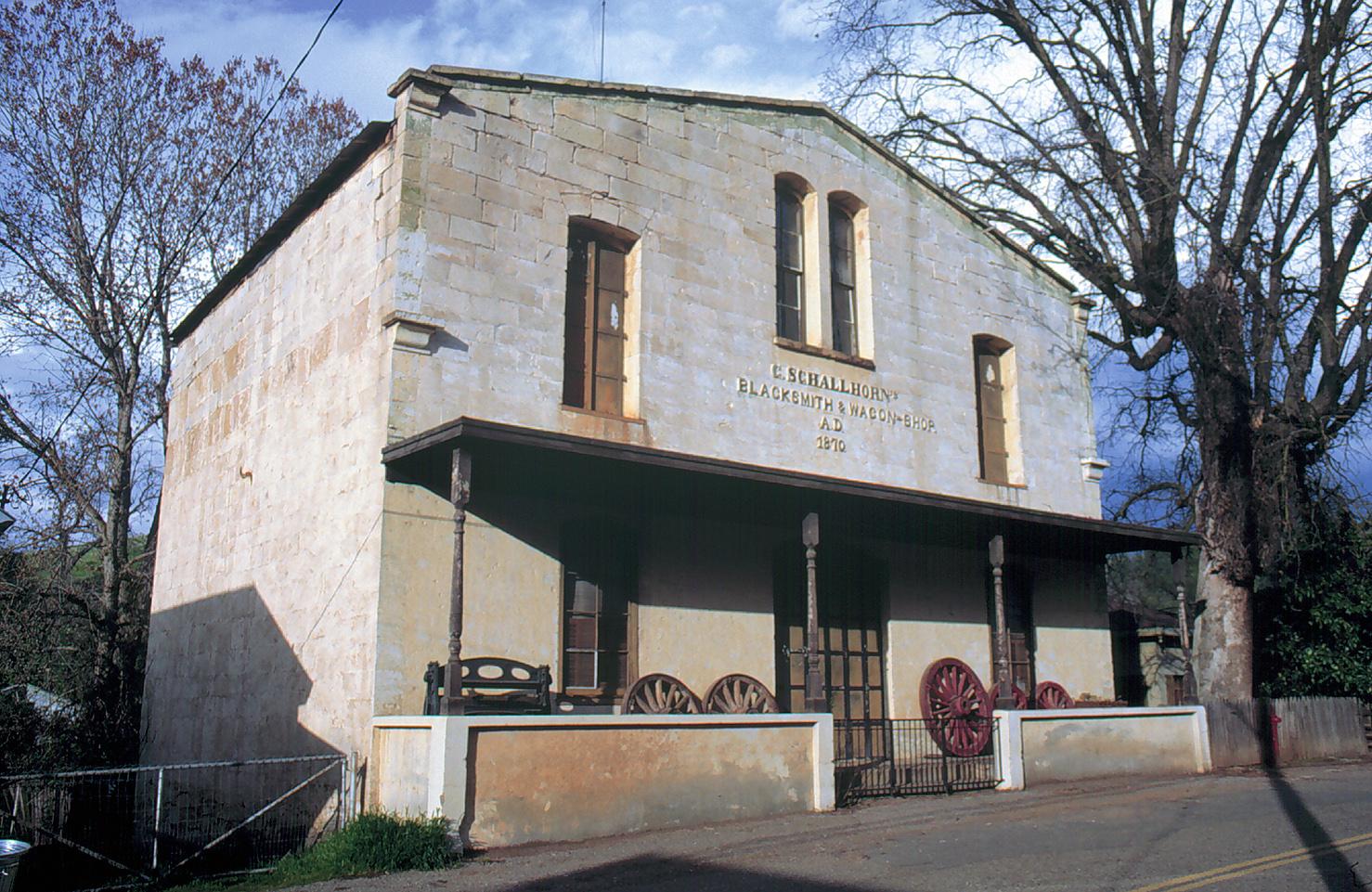 Fiddletown California - Schalhorne Blacksmith.jpg