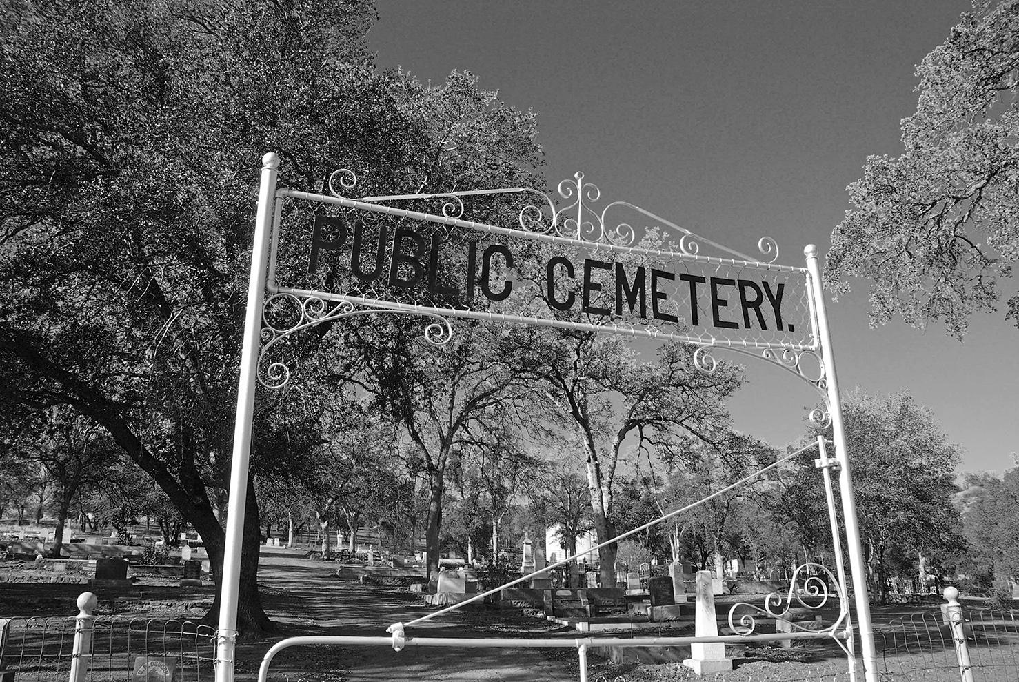 Coulterville Public Cemetery Public Cemetery Sign.jpg