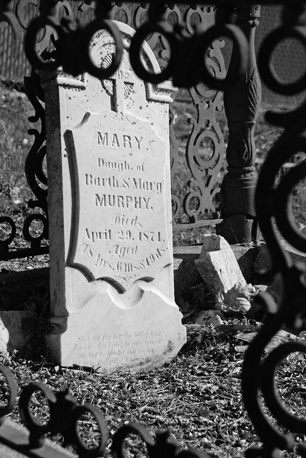 Grass Valley St. Patricks Cemetery Mary.jpg