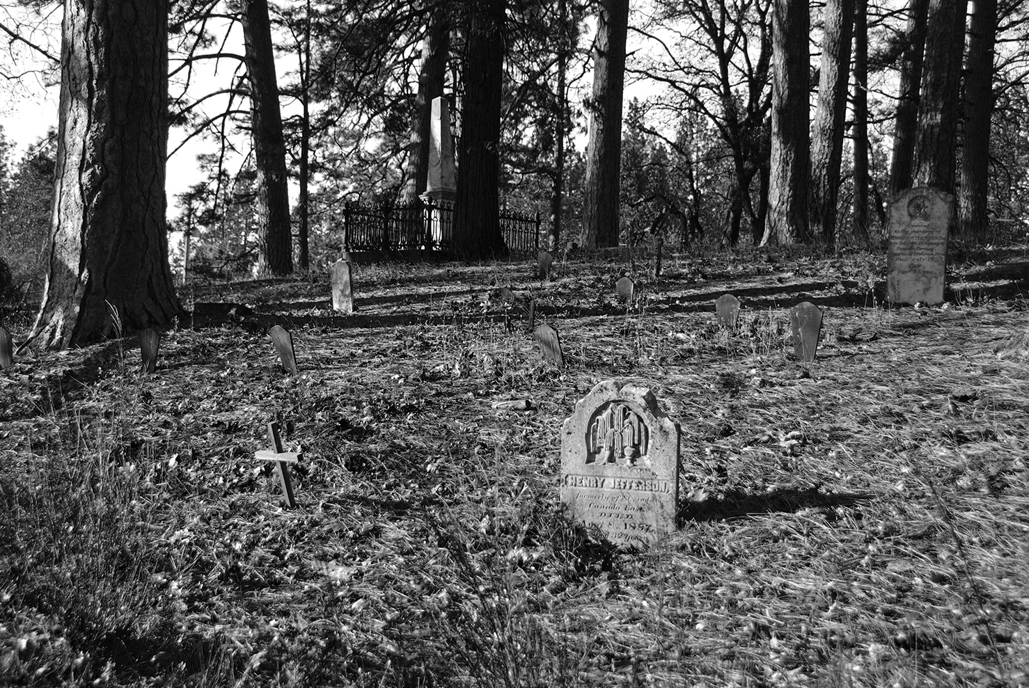 Nevada City Pioneer Cemetery Overview.jpg