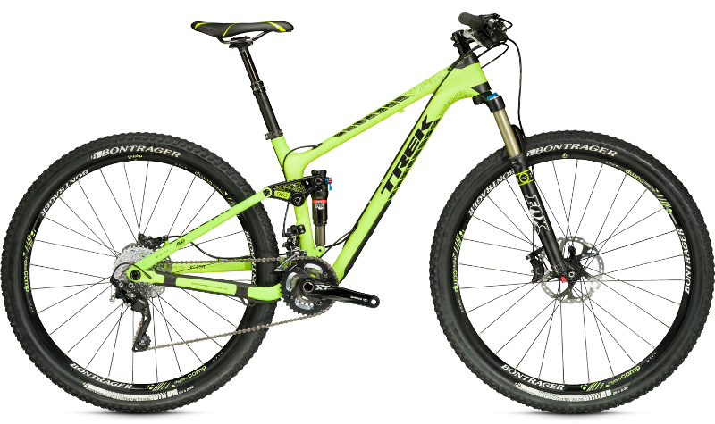 trek fuel ex 9.8 29er mountain bike