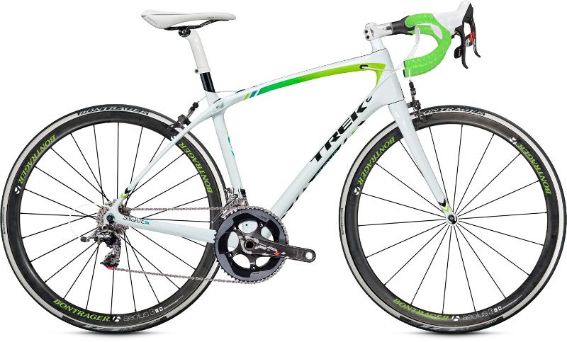 Silque carbon trek road bike wsd women's