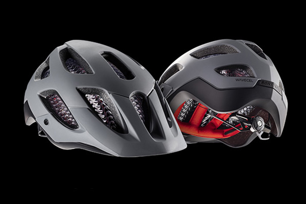 < Bontrager Blaze WaveCel - A trail-tested mountain bike helmet with advanced WaveCel technology for comfort and protection on any trail, any time. Available in Black, Slate, Roarange, or Miami Green.