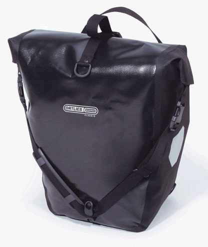 Ortleib Back-Roller Classic pannier; comes in a set of two.