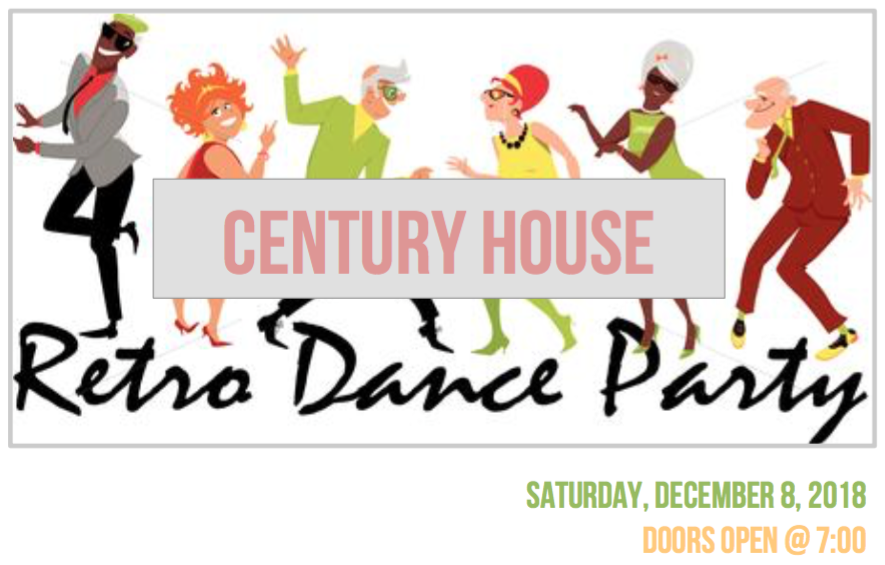 Join us for the Retro Dance Party in South Main - Saturday, December 8 from 7:00 PM - Midnight