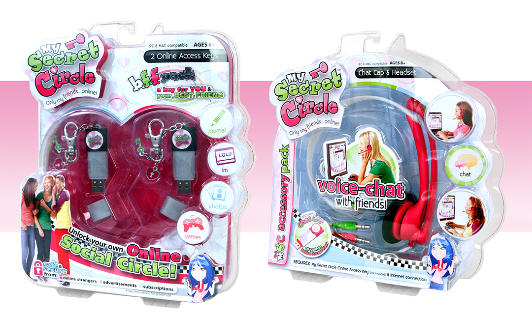 My Secret Circle 2-Pack and Headset package