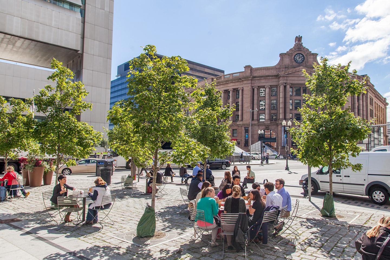Dewey Square, Boston