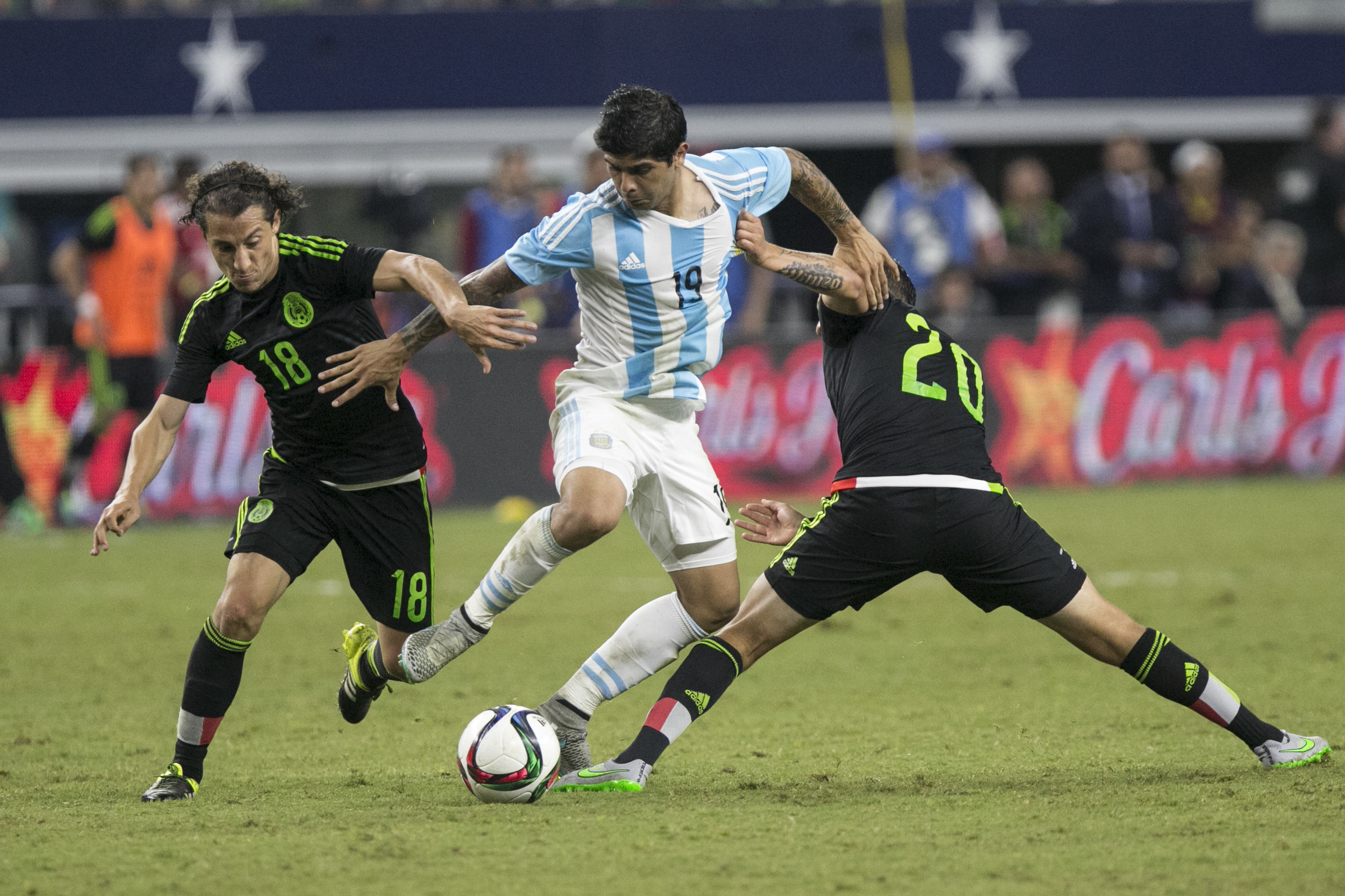 Mexico vs. Argentina National Soccer on Sep. 8, 2015, in Arlington, TX.