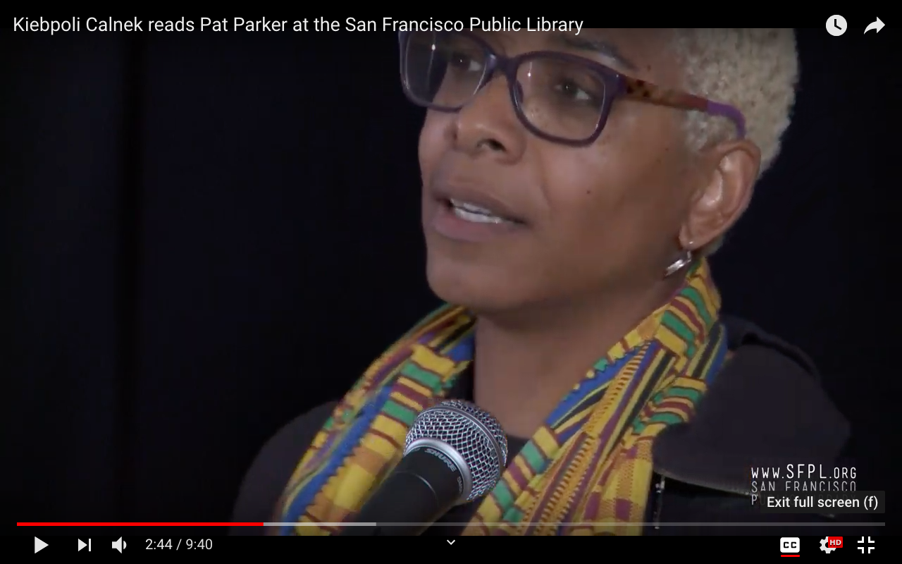Celebrating  The Complete Works of Pat Parker