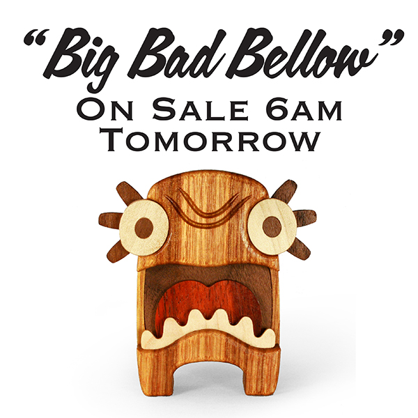 Swing by our online shop tomorrow morning at 6am (Texas Time) and pick up a BBB mini figure
