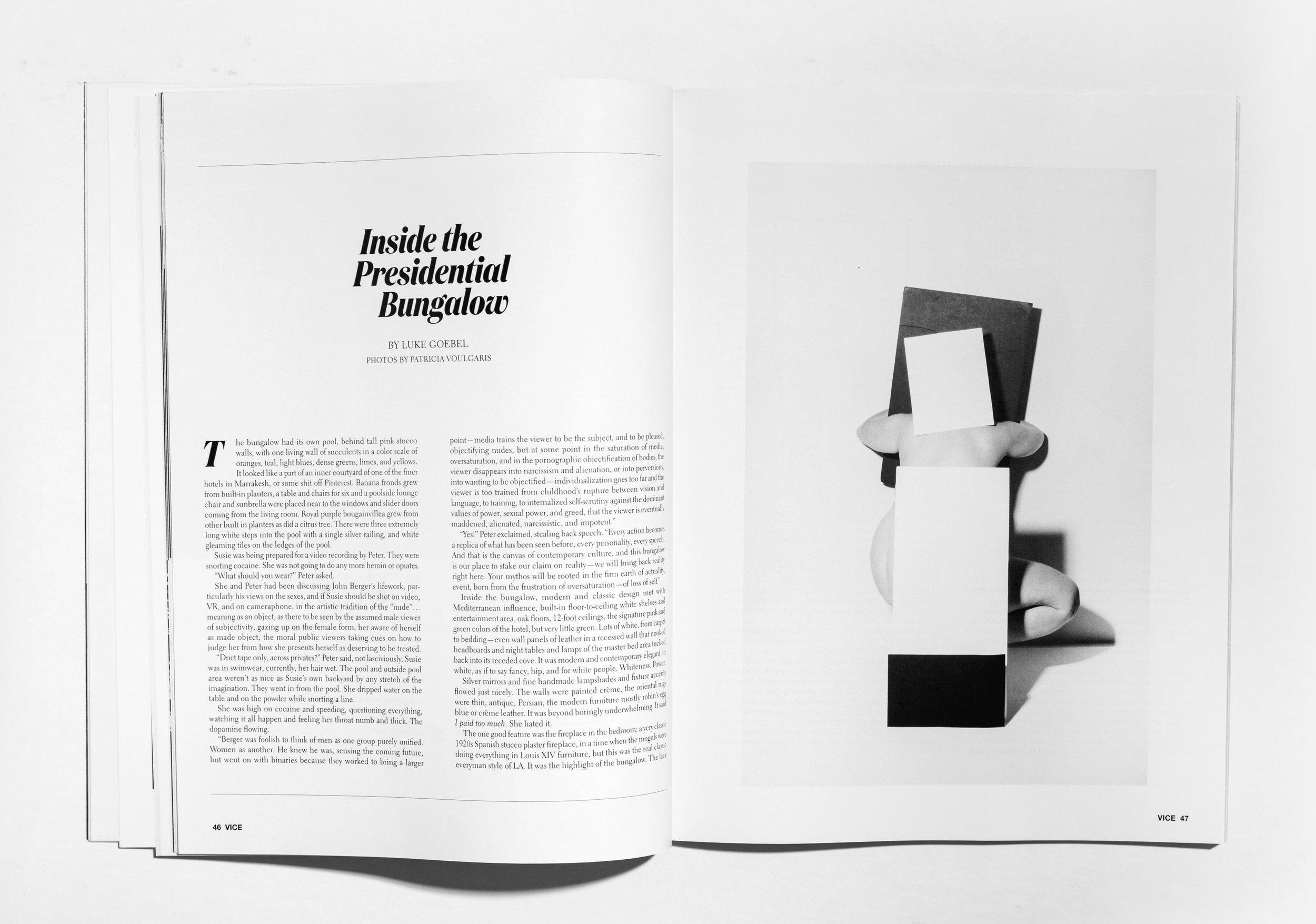 Vice Magazine, 2018