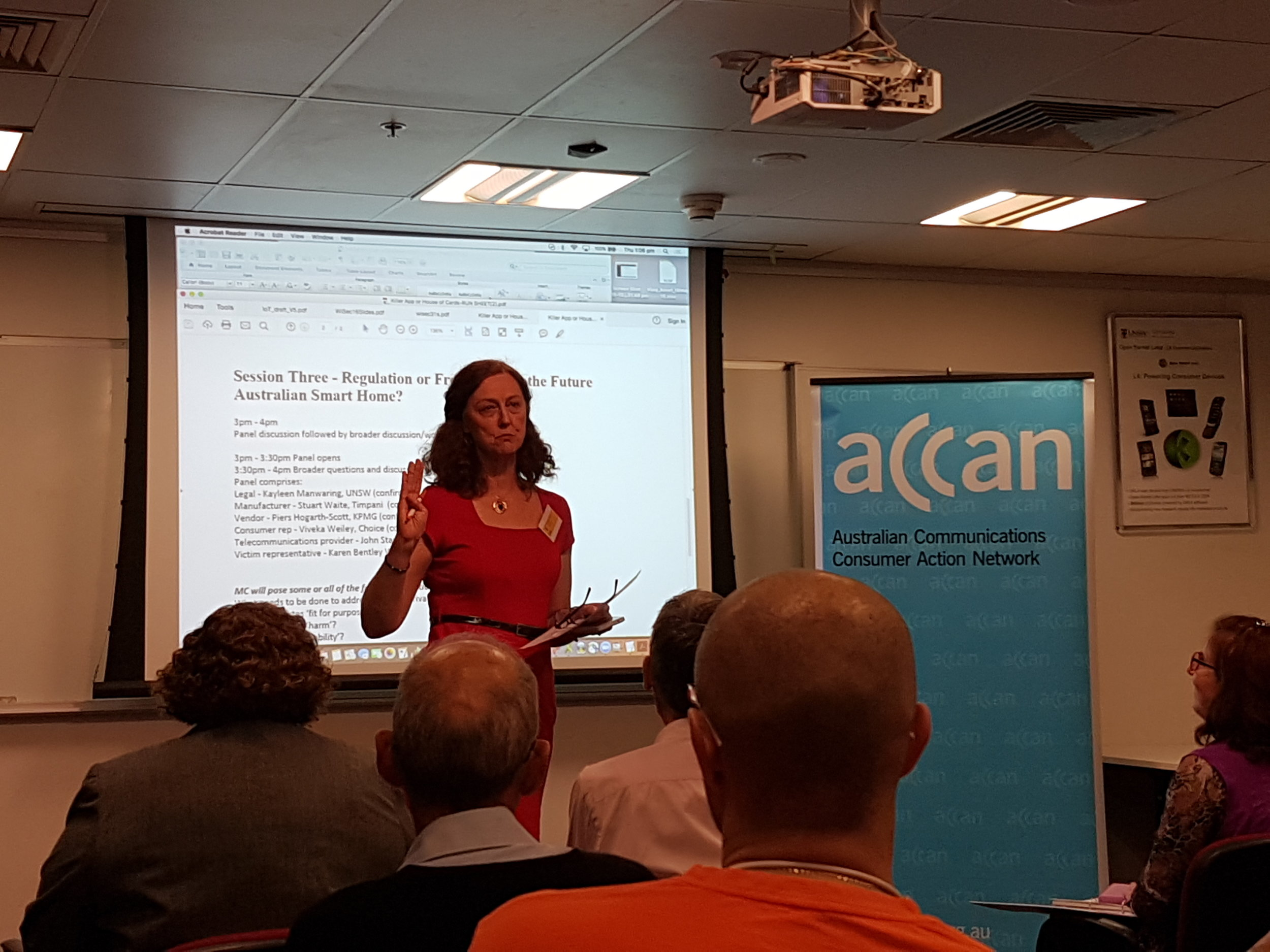 Narelle Clark -Director of Operations - Deputy CEO of ACCAN