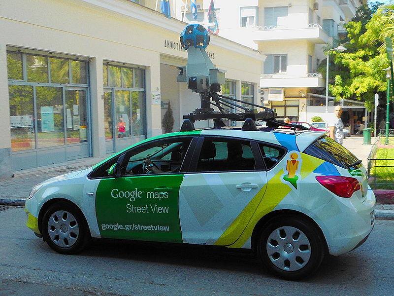 Google Car in Greece