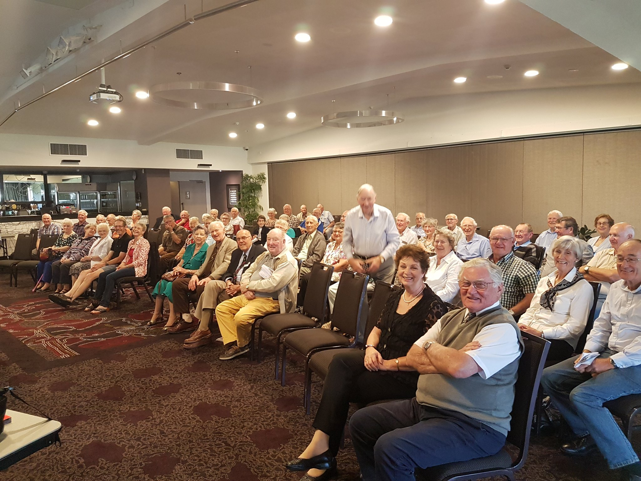 Probus Nowra Members @ my talk on DBS