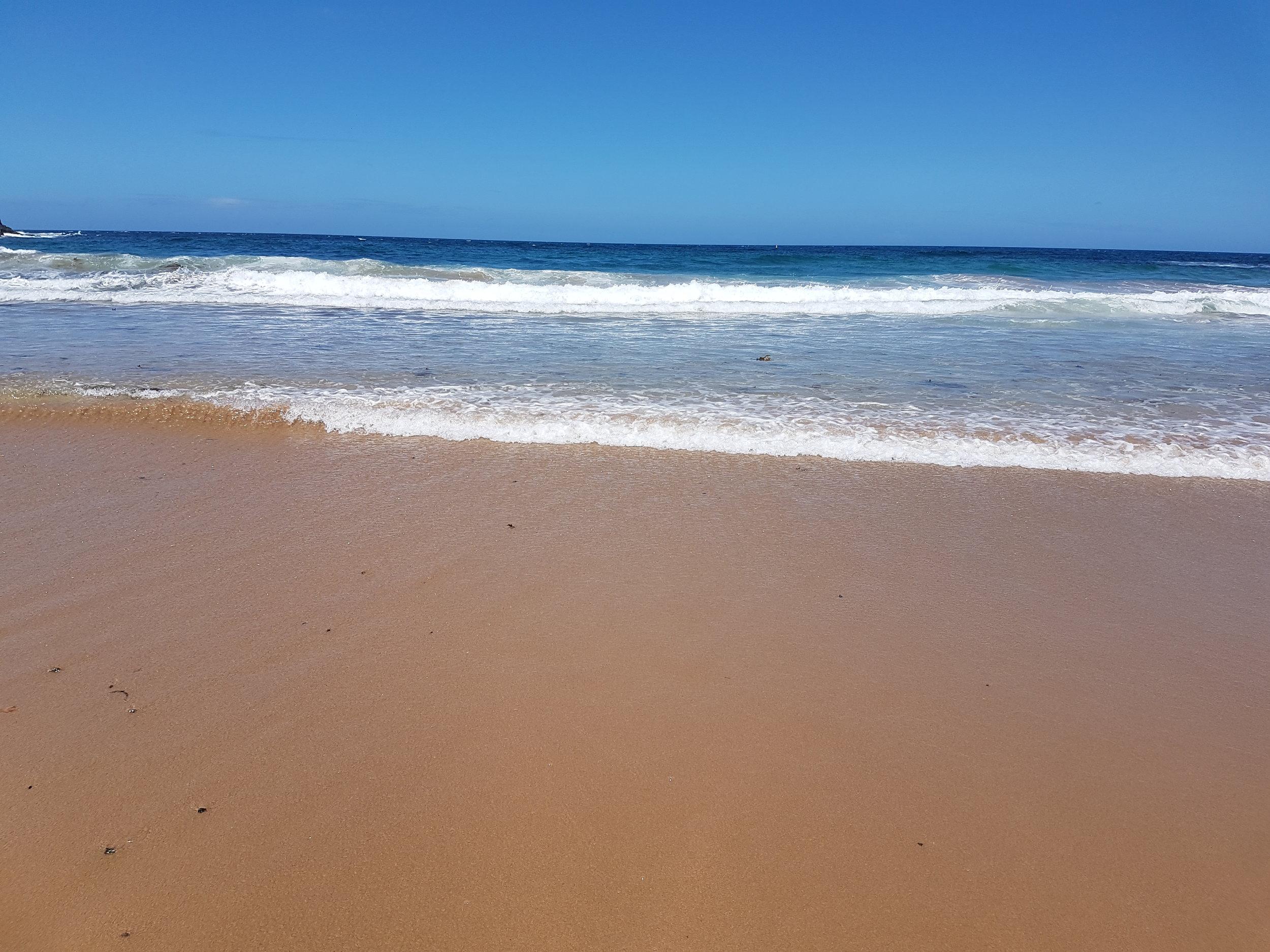 Shhh-wap-shhh-wap went the ocean - Crshh-wap-crshh-wap went the waves.