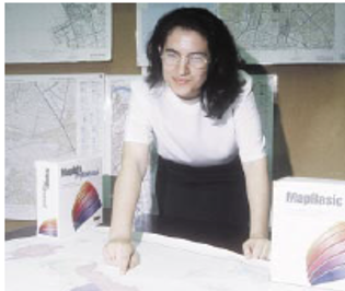 Katina Michael in 1999 while working at Nortel Networks in Wollongong as an engineer in the Network Systems Solutions group.