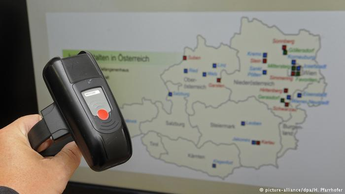 Austria also uses offender tracking systems