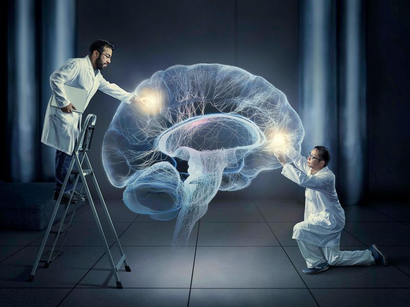 Caption: Completely unrelated image but one that provides a view of the brain, and how some people in society might think about the new embedded technologies. Source: https://www.smithsonianmag.com/innovation/meet-two-scientists-who-implanted-false-memory-mouse-180953045/