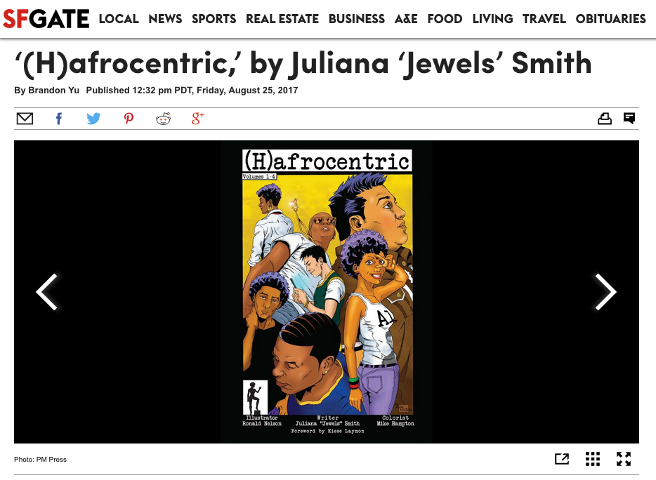 '(H)afrocentric' By Jewels Smith