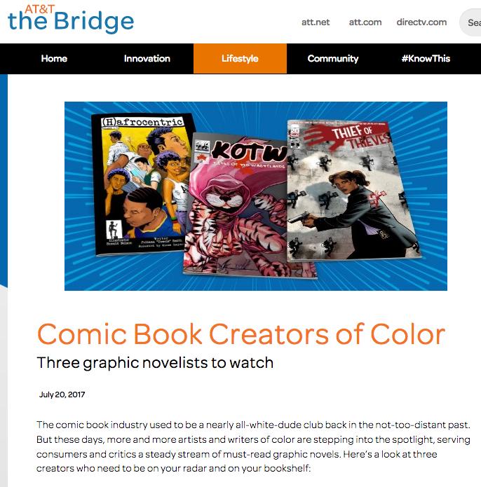 Comic Book Creators of Color