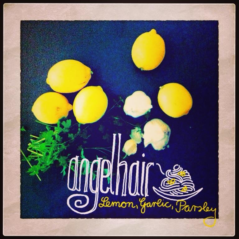 Lemon & Garlic Angel Hair Pasta