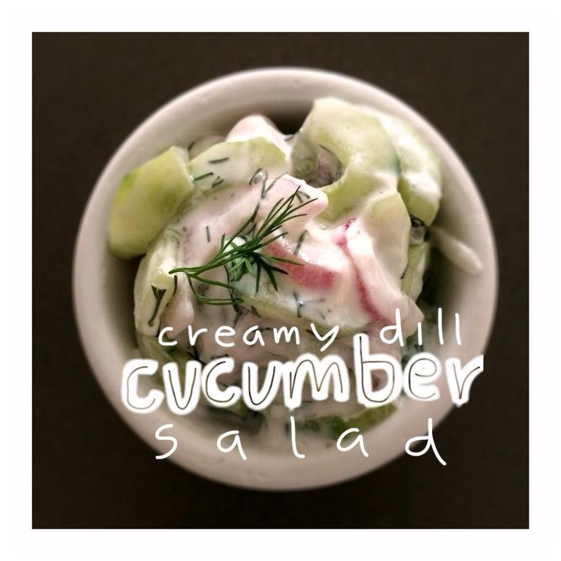 Creamy Cucumbers