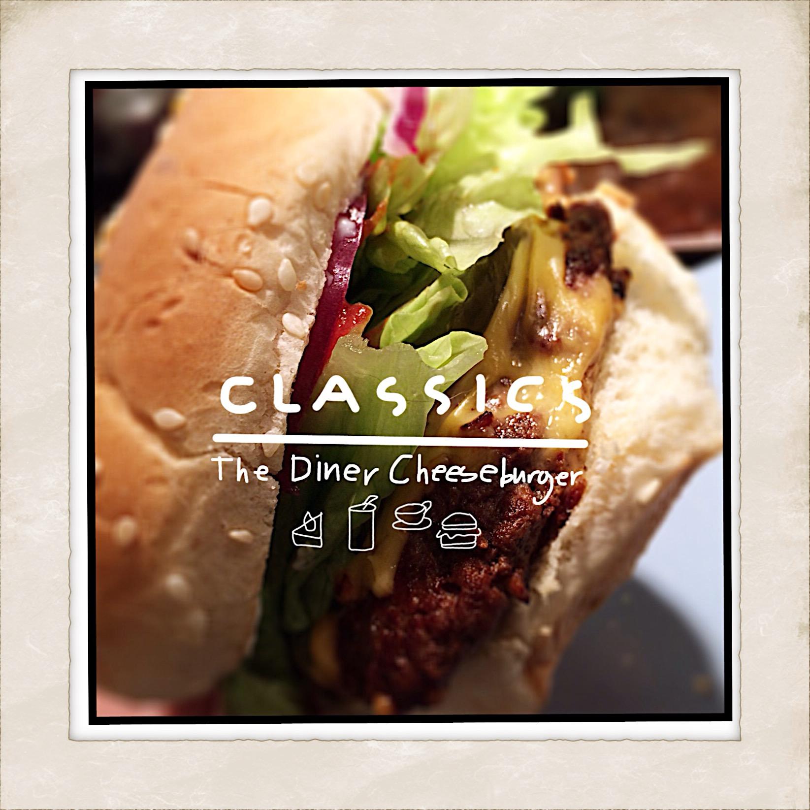 Classic Diner Cheeseburger