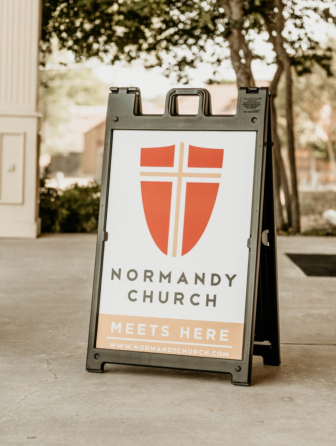 Sunday Service - 10:00 a.m.at Scofield Memorial Church (look for this sign!)7730 Abrams RoadDallas, Texas 75231