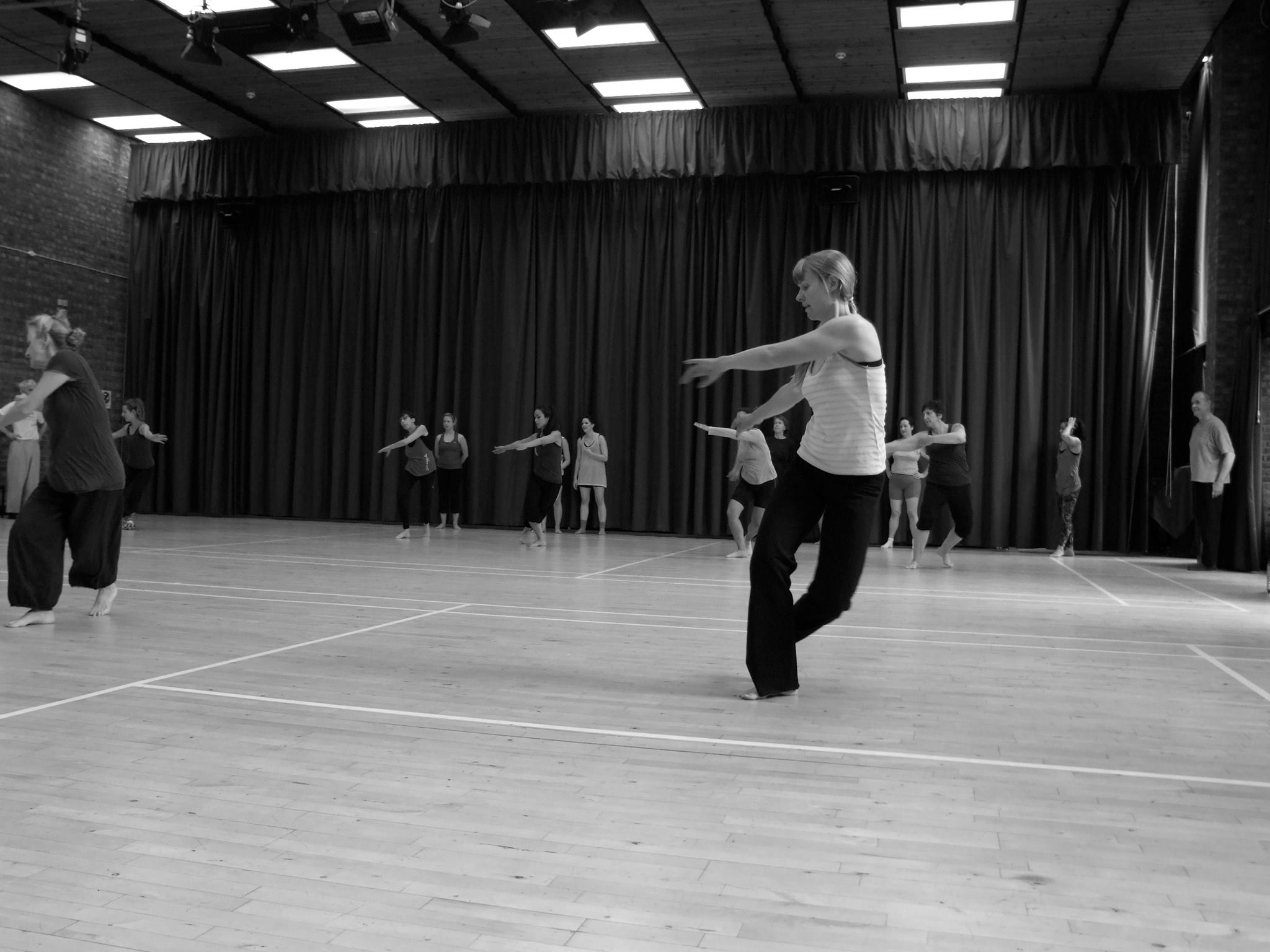 Lots of lovely space to shake a leg with the Open Dance Group every Tuesday!