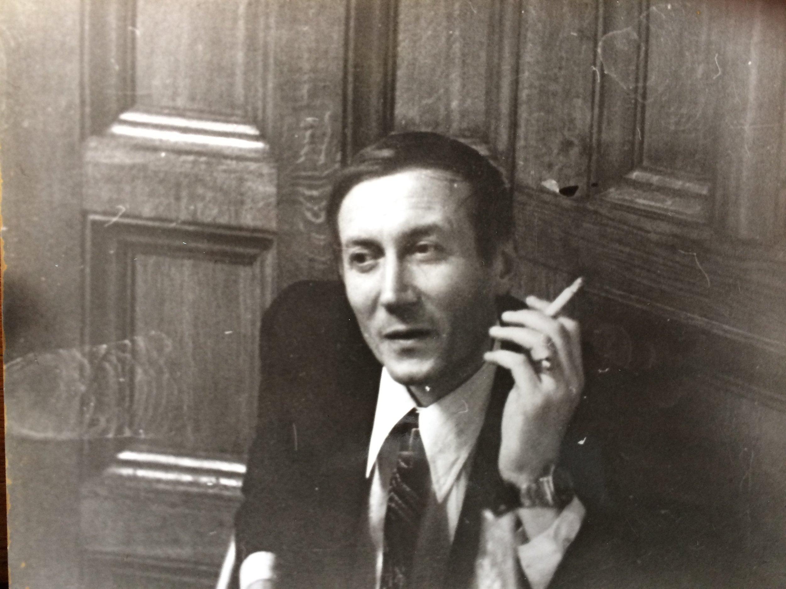 Yevtushenko in the 1970s. Image © Simon Franklin